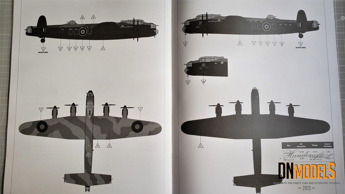 Avro Lancaster B Mk.I 132 kit Review - HK Models #01E010