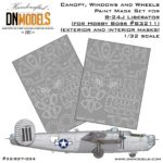 Cover Liberator B-24J Canopy 32nd scale (Site)
