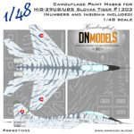 Cover Mig-29UB Tiger Camo 48th scale (Site)