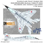 Cover Mig-29UB Tiger Camo 72nd scale (Site)