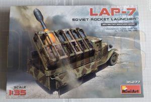 LAP-7 Soviet Rocket Launcher MiniArt 35277 Review DN Models masks for scale models 1/35