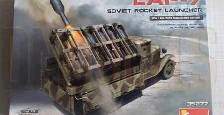 LAP-7 Soviet Rocket Launcher MiniArt 35277 Review DN Models masks for scale models 1/35