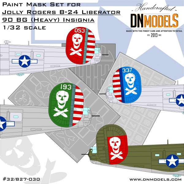 Cover Jolly Rogers B-24 Liberators 90 BG (Heavy) 32nd scale (Site)