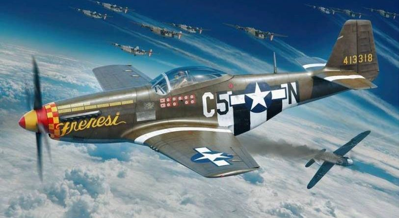 Eduard will release 48th Scale Mustang in 2019