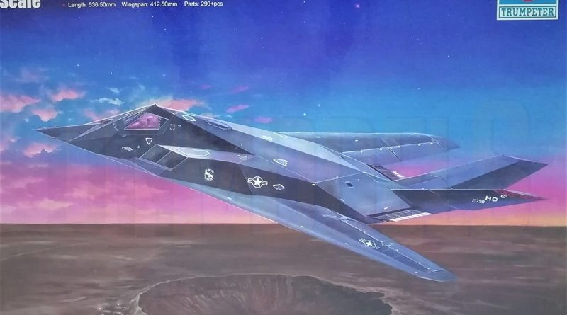 RUMPETER F-117A NIGHTHAWK 1/32 dn models masks for scale models