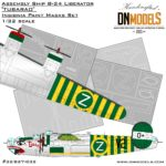 Cover Liberator B-24 Assembly Ship TUBARAO 32nd scale (Site)