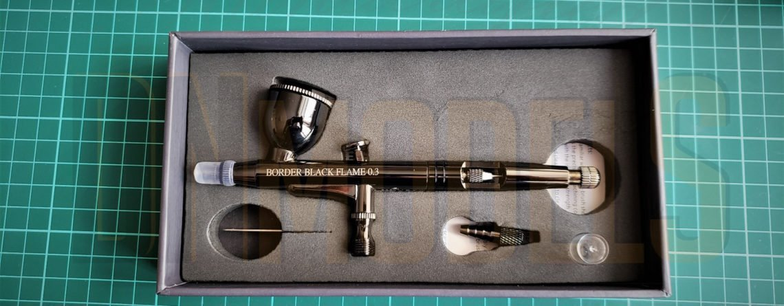 Black Flame Ver 2.0 Airbrush Review. .3mm Dual-Action Black Coated airbrush.