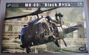 Black Hawk Kitty Hawk MH60L 135 Review DN Models Masks for Scale Models