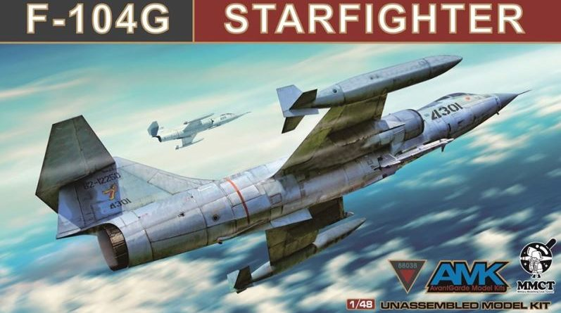 F-104 Starfighter AMK 48th scale 2020 new tool DN Models masks for scale models