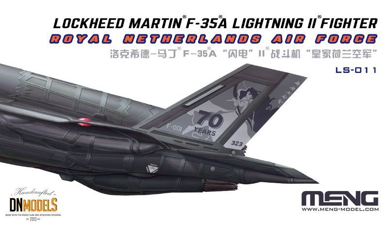 F-35A MENG LS011 DN Models Masks For Scale Models