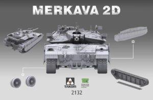 Merkava II.D Takom #2132 DN Models Masks For Scale Models
