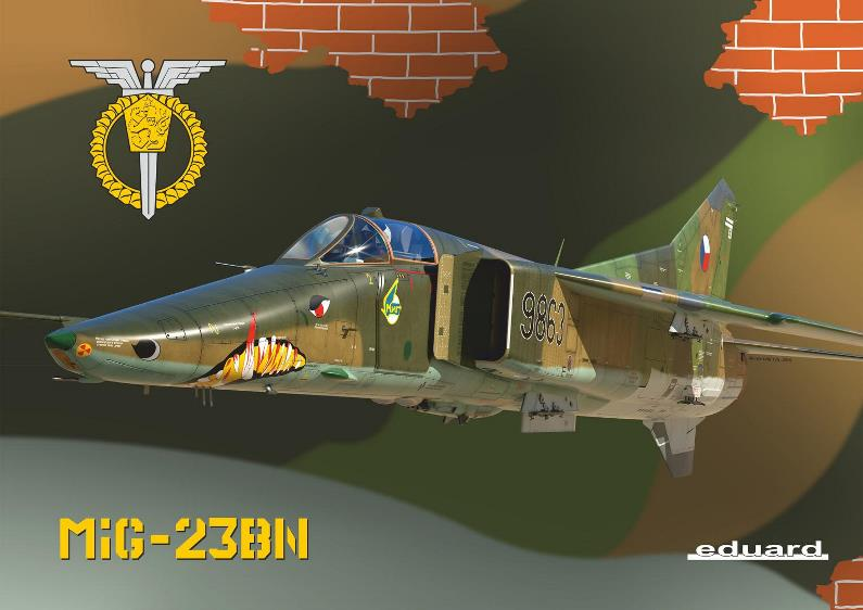 mig-23bn eduard limited edition oops! dn models masks for scale models