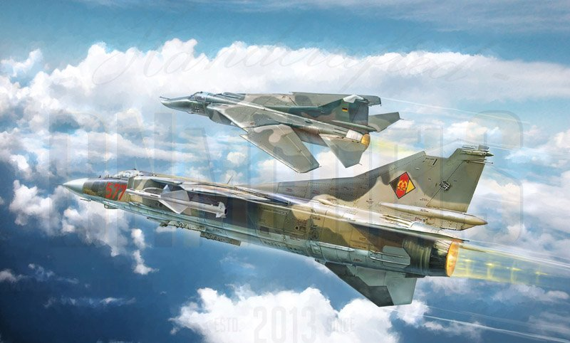 italeri mig-23mf/bn already obsolete dn models masks for scale models