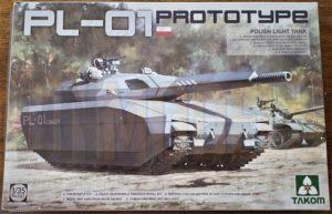 pl-01 polish light tank takom 2127 unboxing review dn models masks for scale models