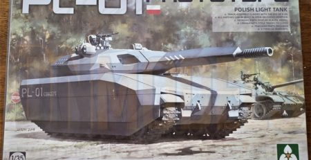 pl-01 polish light tank takom 2127 unboxing review dn models masks for scale models