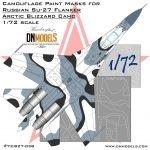 Su-27 Flanker Arctic Blizzard Camo 72nd (Site)