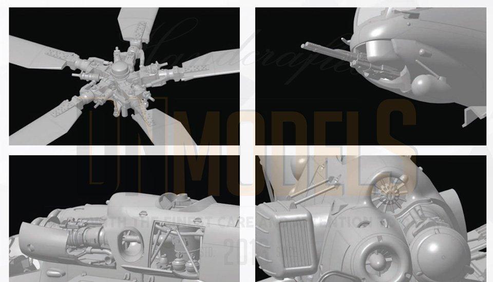 mi24 hind zvezda new tool 2020 dn models masks for scale models