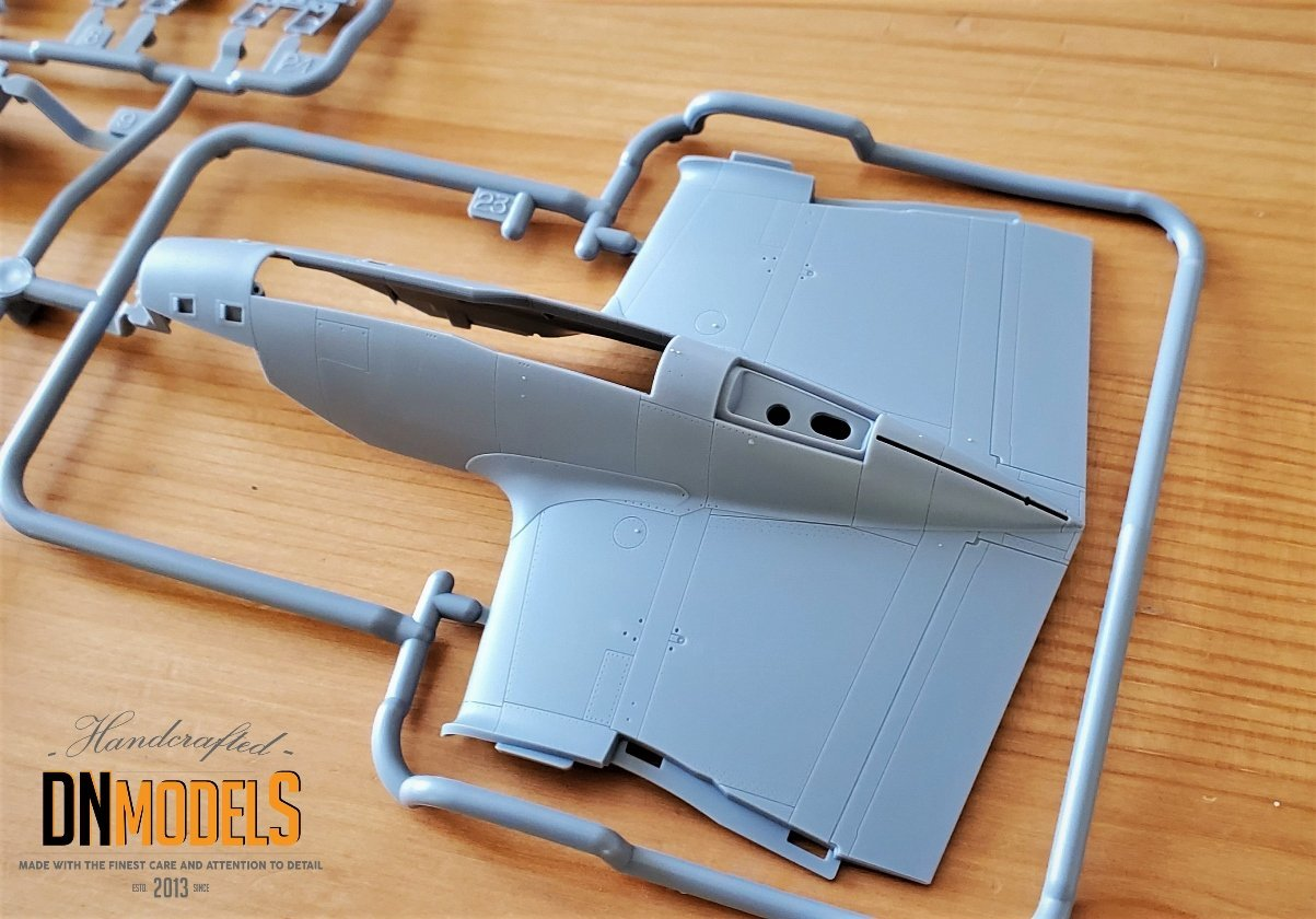 Tamiya P-38 Lightning #61120 review unboxing DN Models masks for scale models fuselage