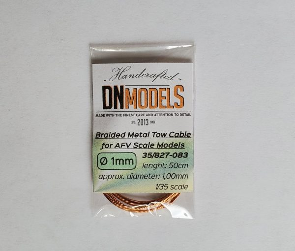 braided metal tow rope tow cable dn models metal aftermarket part