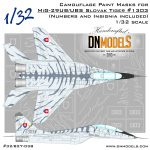 Cover Mig-29UB Tiger Camo 32nd scale (Site)