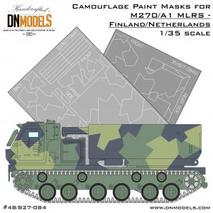 Mlrs m270/a1 finland netherlands dn models masks for scale models
