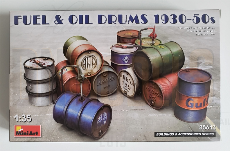 miniart fuel oil drums 35613 review dn models masks for scale models