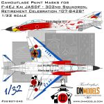 Cover F-4EJ Kai JASDF – 302nd Squadron Retirement Celebration 07-8428 32nd scale (Site)