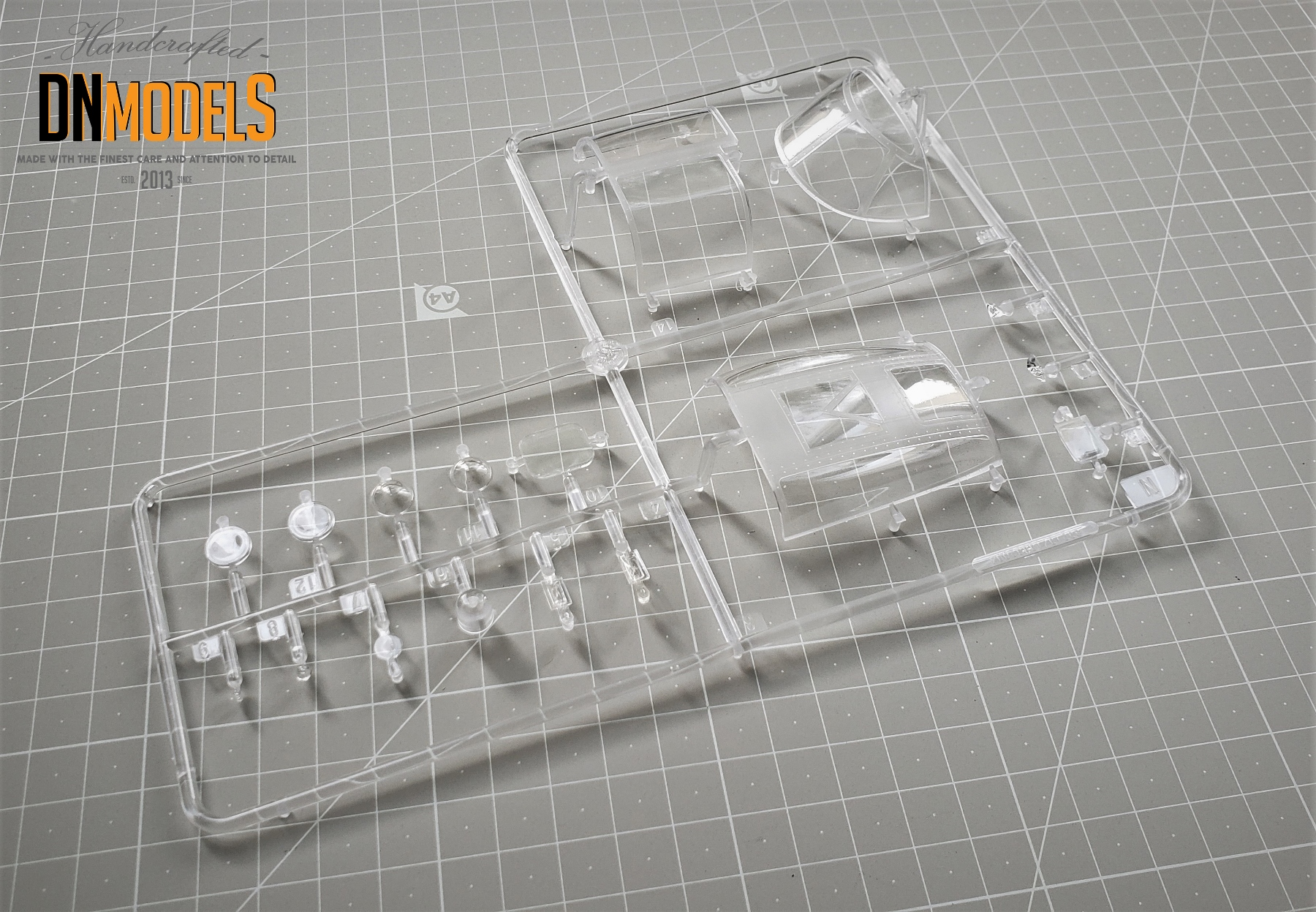 Clear parts a26b invader hobby boss 83213 review dn models masks for scale models