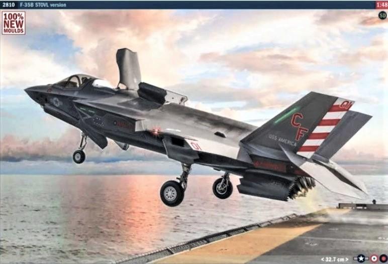 f-35b 1/48 italeri new tool 2021 dn models masks for scale models