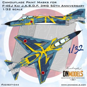 F-4EJ Kai J.A.S.D.F. 3WG 50th Anniversary 1:32 dn models masks for scale models