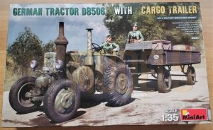 MiniArt German Tractor D8506 Cargo Trailer dn models masks for scale models 35317