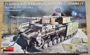 miniart panzer iv 35330 review dn models masks for scale models boxart