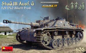 miniart stug iii ausf g alkett interior 35335 dn models masks for scale models